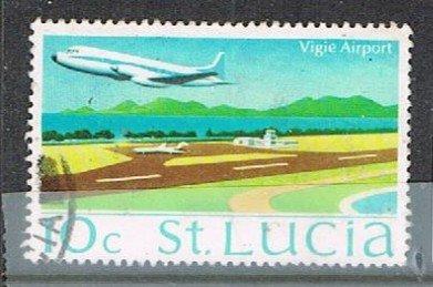 St. LUCIA 190930 - 1970-73 10c Scenes used