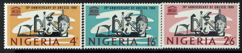 Nigeria SG# 192-194, Mint Very Lightly Hinged -  Lot 031217