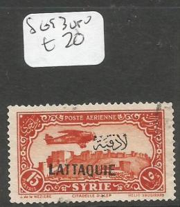 Syria Latakia SG 93 VFU (4cil)