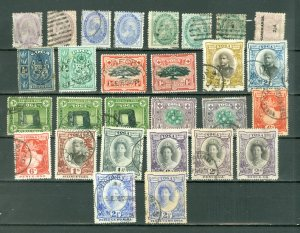 TONGA  EARLY LOT of 28...USED...$125.00