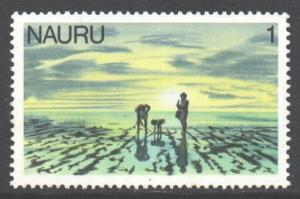 Nauru Scott 165 - SG174, 1978 Fishing 1c MNH**