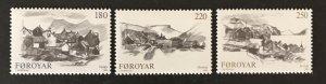 Faroe Islands 1982 #83-5, MNH, CV $2.10
