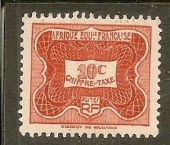 French Equatorial Africa  Scott J12   MNH