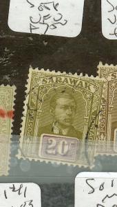 SARAWAK  (P0208B) 20C  SG58  VFU