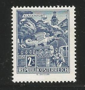 AUSTRIA 625 MNH CHRISTKINDL CHURCH