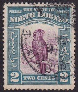 Malaya (North Borneo) 1939 SG304 Used