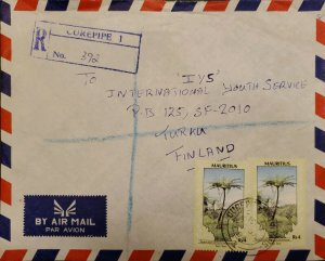 O) 1988 MAURITIUS, ENVIRONMENTAL PROTECTION, FERN TREE, FROM CUREPIPE TO FINLAND