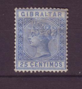 J19550 Jlstamps 1889-95 gibraltar mh #32 king