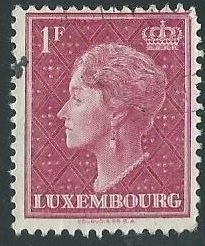 33 Used Stamps of Luxembourg