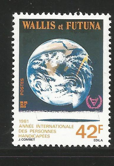 WALLIS & FUTUNA ISLANDS 271, MNH STAMP, INTERNATIONAL YEAR OF THE DISABLED