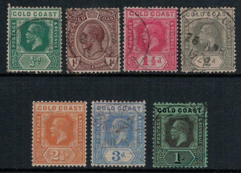 Gold Coast #83-8,90  (87 is mint)  CV $9.25