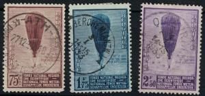 Belgium SC251-153 August Picard's Balloon (used) 1932