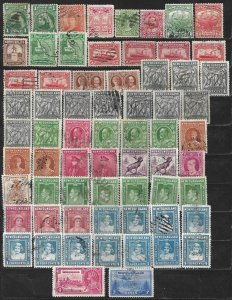 COLLECTION LOT OF 66 NEWFOUNDLAND 1897+ STAMPS CLEARANCE