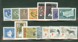 FINLAND 1965 YEARSET