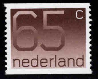 Netherlands Scott 554 coil stamp