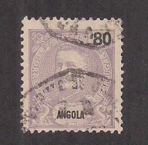 ANGOLA SC# 51   FVF/U