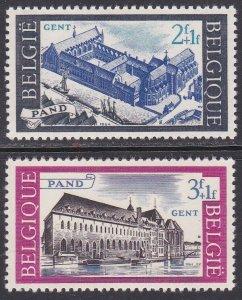 Belgium Sc #B764-B765 Mint Hinged; Mi #1364-65