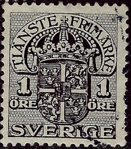 Sweden SC O41 Used F-VF...fill a solid spot...