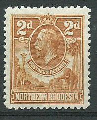 Northern Rhodesia  SG 4 Mint Hinged