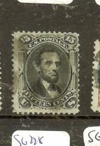 UNITED STATES (P1104B) LINCOLN  15C  SC77  VFU