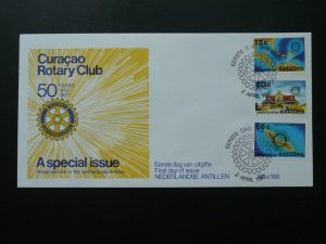 Rotary Club 1987 FDC Netherlands Antilles 87182