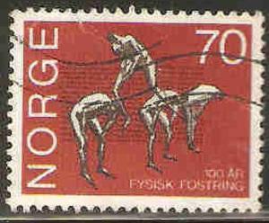 Norway Used Sc 567 - Gymnastics