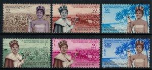Haiti #458-61,C161-2* NH  CV $6.20  Miss Haiti