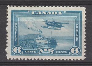 CANADA 1937 AIRMAIL SHIP 7C