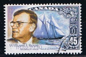 Canada #1738 VF Bluenose Architect  Used Set