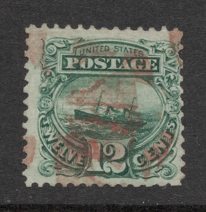 US#117 Green - Red Cancel