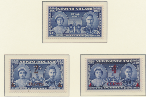 Newfoundland (Canada) Stamps Scott #249 To 251, Mint Never Hinged - Free U.S....