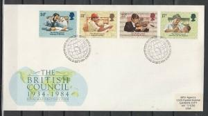 Great Britain, Scott cat. 1067-1070. British Council issue. First Day Cover. ^