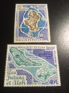 Wallis and Futuna Island sc C78,C79 MNH