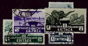 Eritrea SCV#162-165 Used F-VF SCV$20.50...Worth a Close Look!