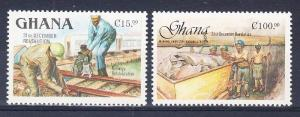 Ghana Scott 1050B,1050D Mint NH (Catalog Value $32.50)