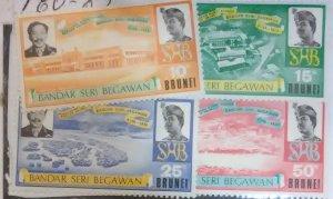 Brunei Scott #180-3*nh  (1972)