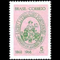 BRAZIL 1968 - Scott# 1094 Literary School Set of 1 NH
