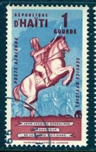 Haiti; 1962: Sc. # CO7: O/Used CTO Single Stamp