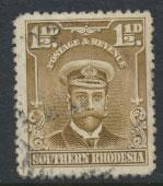 Southern Rhodesia SG 32  SC# 34  used  see scan and details