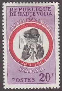 Burkina Faso 108 Basketball 1963