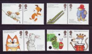 Great Britain Sc 2334-41 2006 Animals Children stamp set mint  NH
