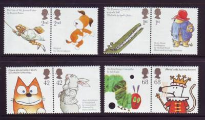 Great Britain Sc 2334-41 2006 Animals Children stamp set mint  NH