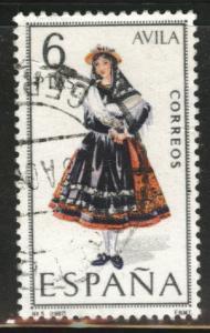 SPAIN Scott 1396 Used Avila regional costume 1967