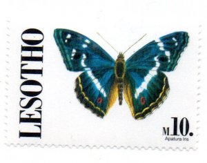 LESOTHO 842 MNH SCV $8.75 BIN $5.25 BUTTERFLY