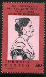 MEXICO 1182, Death Anniv of Josefa Ortiz de Dominguez. MINT, NH. VF.