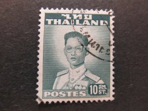 A5P17F63 Thailand Siam 1951-60 10s used