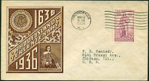 #777-2 HOBBY COVER SERVICE FDC BL7690