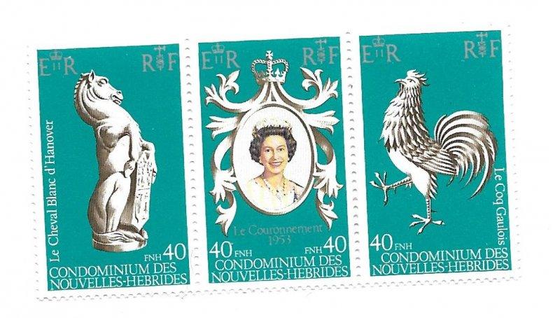 New Hebrides MNH 278 Coronation QEII 1978