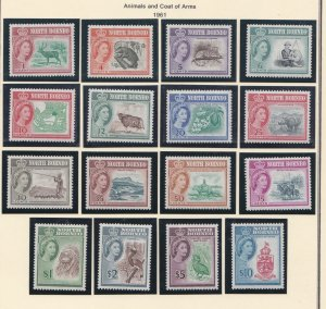 North Borneo # 280-2925, Animals, Queen Elizabeth Definitives, NH, 1/2 Cat.