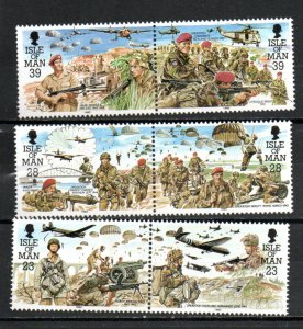 Isle of Man 499-504 MNH